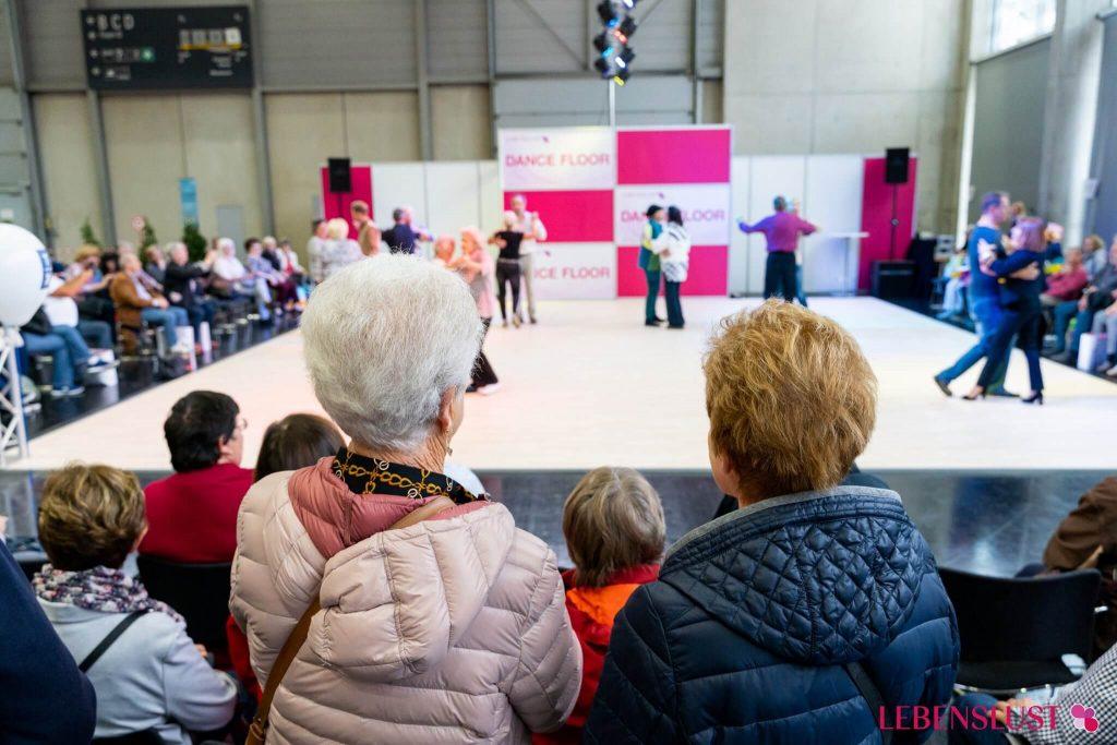 Lebenslust Dancefloor Bühne 2019