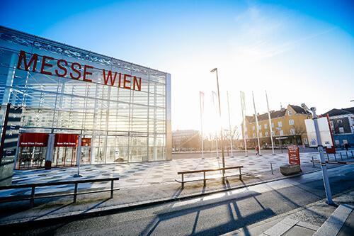 Messe Wien Außenansicht