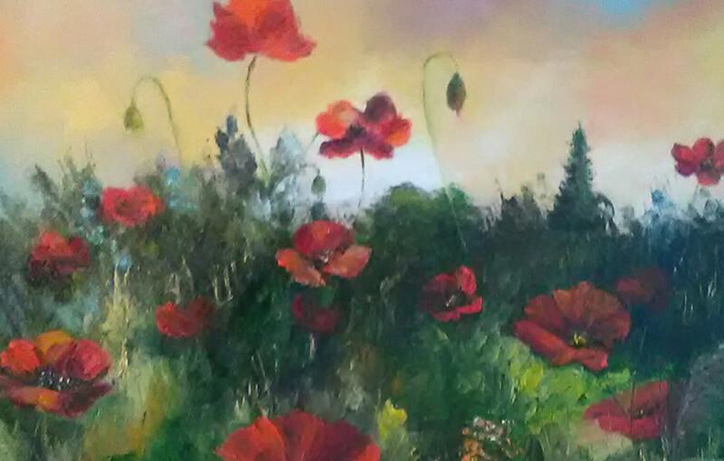 Kunsthandwerksmarkt Ölbild Ölmalerei