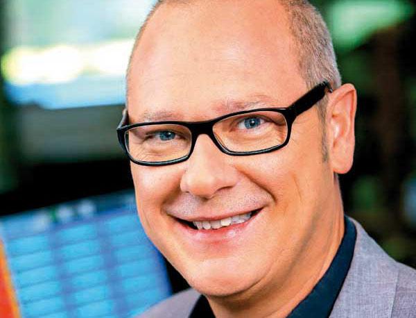 Thomas Schwarzmann auf der Lebenslust Showbühne